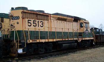 Reading Railroad GP-30 Locomotive #5513